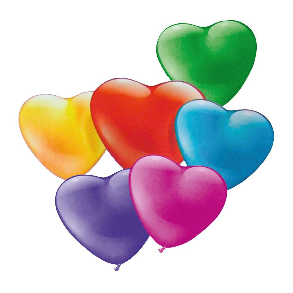 Susy Card Набор воздушных шариков детский Мини-сердца 20 шт11347309