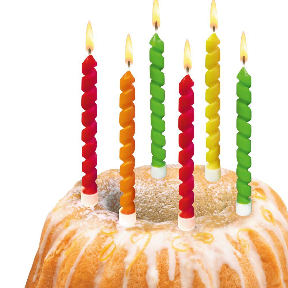 Susy Card Свечи для торта детские Twister 6 шт11347663