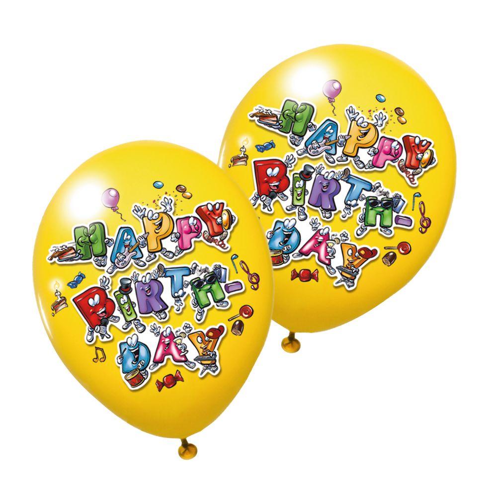 Susy Card Набор воздушных шариков детский Celebration 6 шт11361995