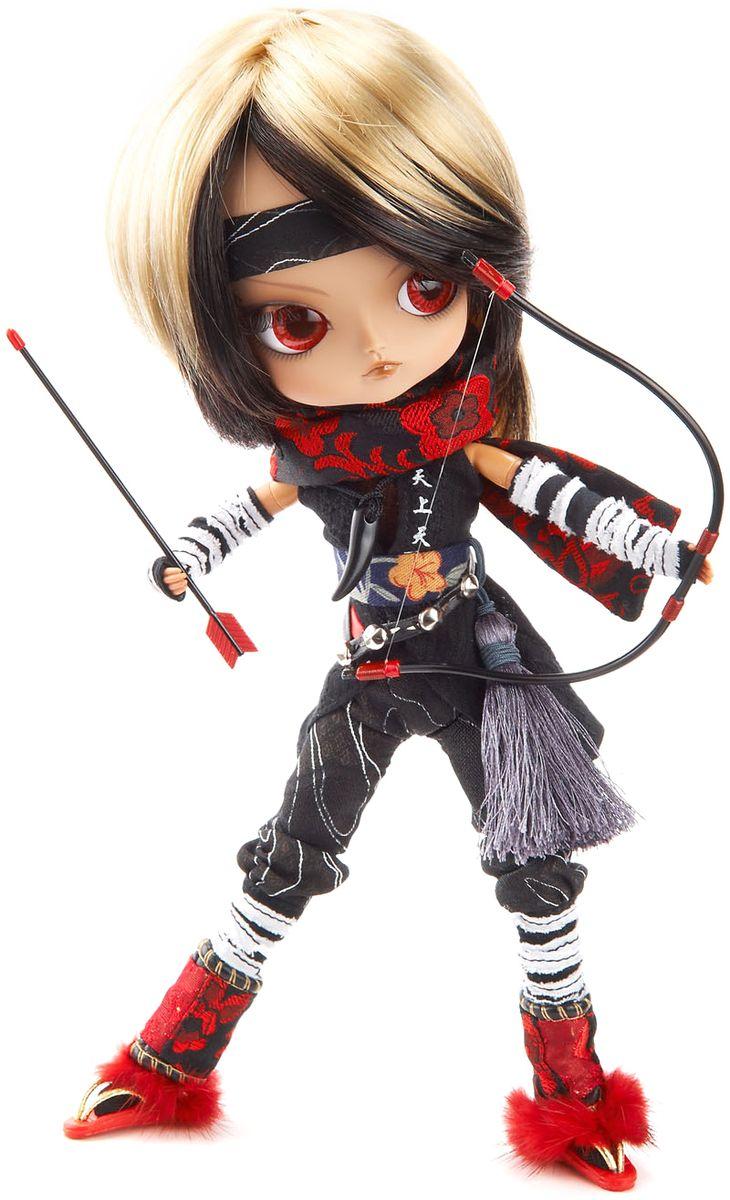 Groove Кукла коллекционная Dal КотояGRVD119Дизайнерские куклы от японской компании Groove могут похвастаться множеством подвижных шарнирных соединений, своей собственной историей и уникальным внешним видом — каждая кукла из этой серии обладает индивидуальной причёской и макияжем. С помощью специального механизма, расположенного в голове, можно изменять направление взгляда и закрывать глаза. В комплекте: лук и стрела, короткий меч, подставка Материал: пластик Высота куклы: 26 см