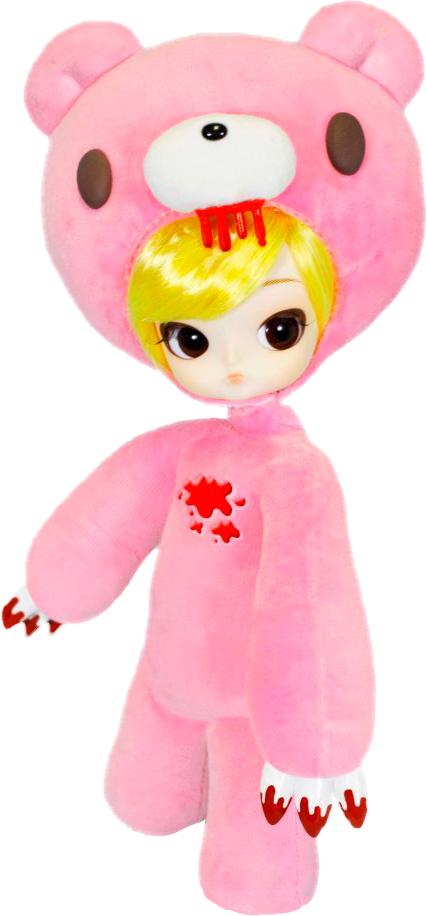 Groove Кукла коллекционная Dal ГрумиGRVD133Дизайнерские куклы от японской компании Groove могут похвастаться множеством подвижных шарнирных соединений, своей собственной историей и уникальным внешним видом — каждая кукла из этой серии обладает индивидуальной причёской и макияжем. С помощью специального механизма, расположенного в голове, можно изменять направление взгляда и закрывать глаза. В комплекте: костюм медведя Глуми, подставка Материал: пластик Высота куклы: 26 см