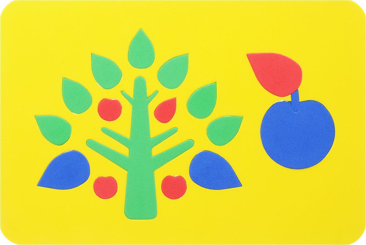 Август Пазл для малышей Дерево цвет основы желтый27-2005/ желтыйПазл Август Дерево выполнен из мягкого полимера, который дает юному конструктору новые удивительные возможности в игре: детали гнутся, но не ломаются, их всегда можно состыковать. Пазл представляет собой основу, в которой из элементов разной формы и размеров собирается оригинальная яблоня. Ваш ребенок сможет собрать его и в ванной. Элементы пазла можно намочить, благодаря чему они будут хорошо прилипать к стене в ванной комнате. Такая игра развивает пространственное и логическое мышление, память и глазомер, знакомит с формами и цветом предмета в процессе игры.