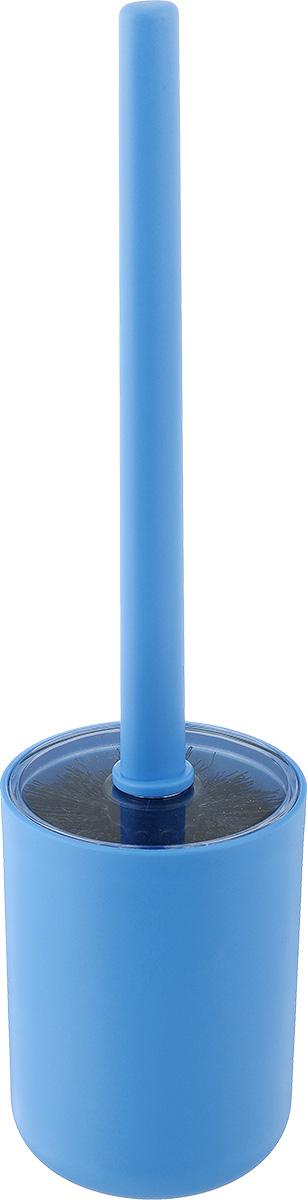 Ершик для унитаза Vanstore Plastic Blue, с подставкой, цвет: голубой311-06Ершик для унитаза Vanstore Plastic Blue выполнен из пластика и оснащен жестким ворсом. Подставка с устойчивым основанием не позволяет ершику опрокинуться. Ершик отлично чистит поверхность, а грязь с него легко смывается водой. Стильный дизайн изделия притягивает взгляд и прекрасно подойдет к интерьеру туалетной комнаты. Высота ершика: 32,5 см. Размер подставки для ершика: 9 х 9 х 12,5 см. Размер рабочей части ершика: 8 х 8 х 8 см.
