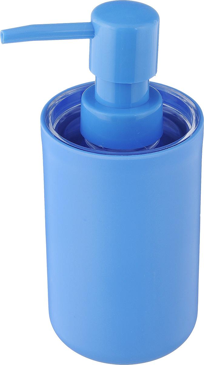Дозатор для жидкого мыла Vanstore Plastic Blue, цвет: голубой, 300 мл311-03Дозатор для жидкого мыла Vanstore Plastic Blue, изготовленный из пластика, отлично подойдет для вашей ванной комнаты. Такой аксессуар очень удобен в использовании, достаточно лишь перелить жидкое мыло в дозатор, а когда необходимо использование мыла, легким нажатием выдавить нужное количество. Дозатор для жидкого мыла Vanstore Plastic Blue создаст особую атмосферу уюта и максимального комфорта в ванной. Размер дозатора: 6,5 х 6,5 х 16 см. Объем дозатора: 300 мл.