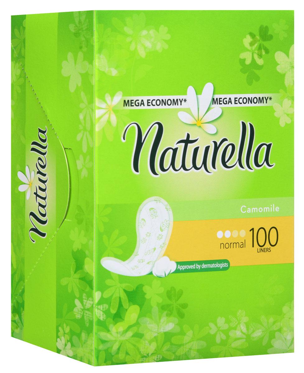 Ежедневные прокладки Naturella Normal, 100 штNT-83710468Ежедневные прокладки Naturella мягкие, как лепесток ромашки. Их создали, чтобы женщин не покидало ощущение свежести ни на мгновение в течение дня. Они очень тоненькие и нежно пахнут ромашкой. Прокладки прекрасно подойдут для ежедневных выделений или выручат в первые и последние дни месячных. Ежедневные прокладки Naturella Normal с впитывающим слоем по всей поверхности, обеспечат Вам защиту и комфорт на целый день.