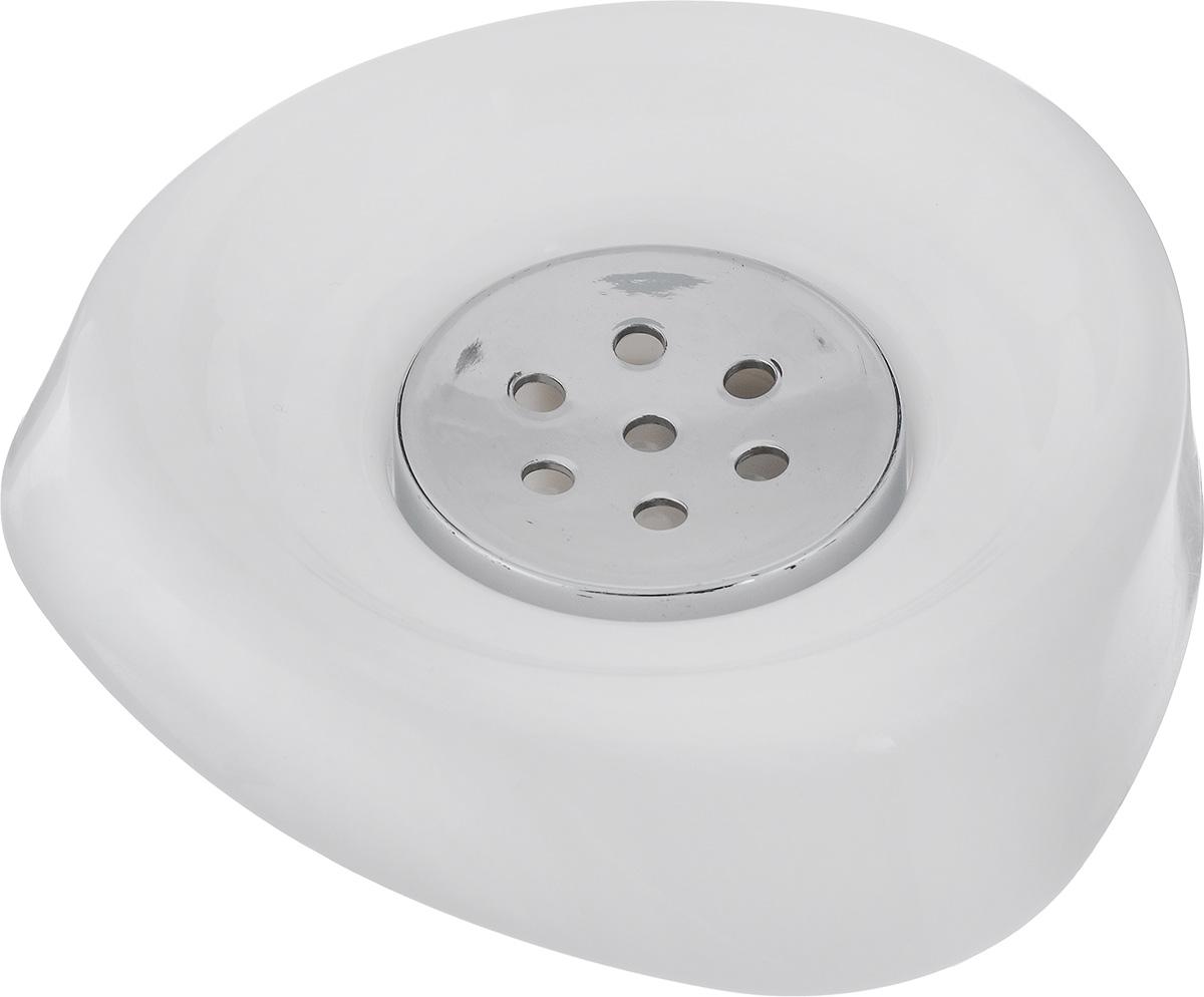 Мыльница Vanstore Wiki White, цвет: белый, 11 х 11 х 3 см355-04Оригинальная мыльница Vanstore Wiki White выполнена из высококачественного пластика. Изделие отлично подойдет для вашей ванной комнаты. Такая мыльница создаст особую атмосферу уюта и максимального комфорта в ванной. Размер мыльницы: 11 х 11 х 3 см.