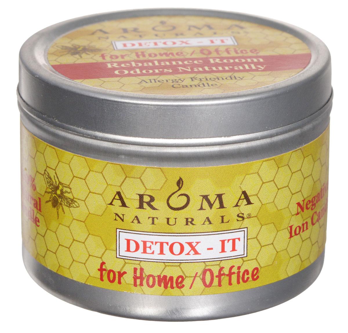 Aroma Naturals Соевая свеча Детокс, 80 г (новый дизайн)AR23501_ новый дизайн