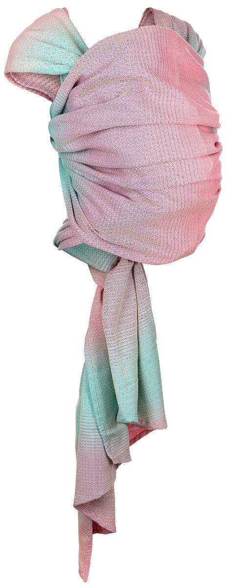 Mums Era Слинг-шарф Симбио цвет конфетти Размер M34734Слинг-шарф Mums Era Симбио - замечательный помощник для молодой мамы: освобождает руки, создает близкий контакт с малышом, позволяет покормить незаметно для окружающих, прекрасно успокаивает и усыпляет малыша. Это удобная, безопасная и универсальная переноска для детей, она имеет множество положений, что позволяет выбрать то, что подойдет именно вам! Слинг-шарф выполнен из 100% хлопка и оформлен узором в виде мелких ромбов, который прекрасно сочетается с повседневной одеждой. Полотно тянется по диагонали, но не тянется вдоль и поперек, благодаря чему слинг хорошо облегает, ложится мягкими складками. Нежный мягкий материал идеален для ношения детей от рождения и до трех лет. Слинг-шарф надевается на оба плеча родителя, поэтому не возникает смещения центра тяжести, так что даже тяжелого малыша вы будете носить с удовольствием и почти не ощущая нагрузки. Такой слинг станет не только удобной переноской, но и стильным аксессуаром для молодой мамы. Слинг-шарф подойдет любому...