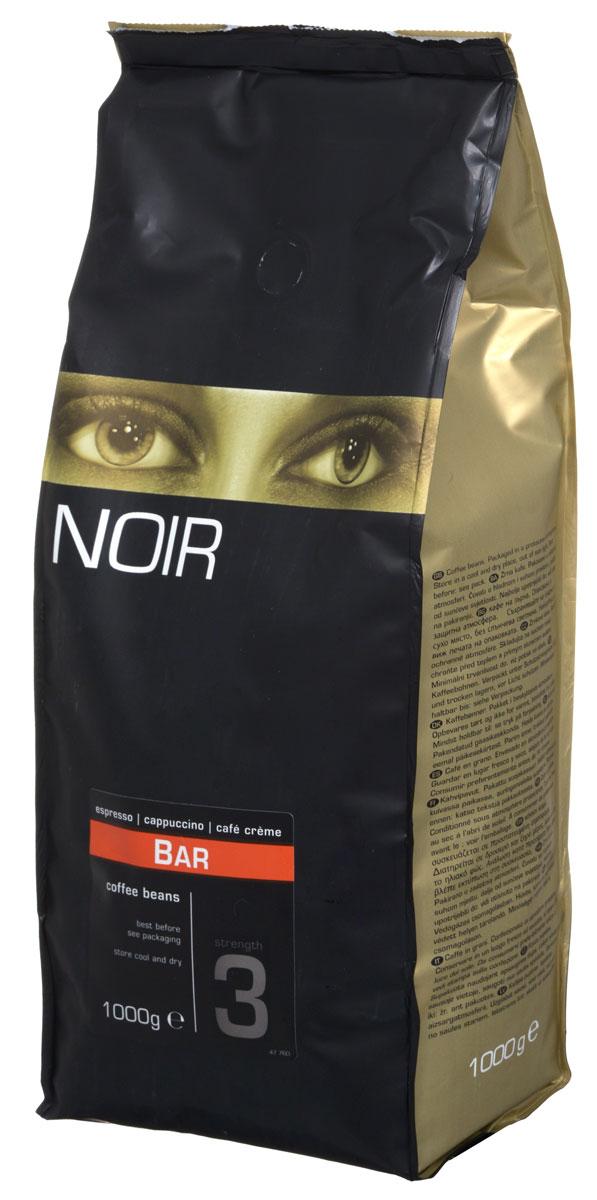 Noir Bar кофе в зернах, 1 кг8714858476659Noir Bar - мягкая композиция зерен Арабики и Робусты средней обжарки с яркими ореховыми нотами и травянистыми оттенками. Создана для наслаждения.