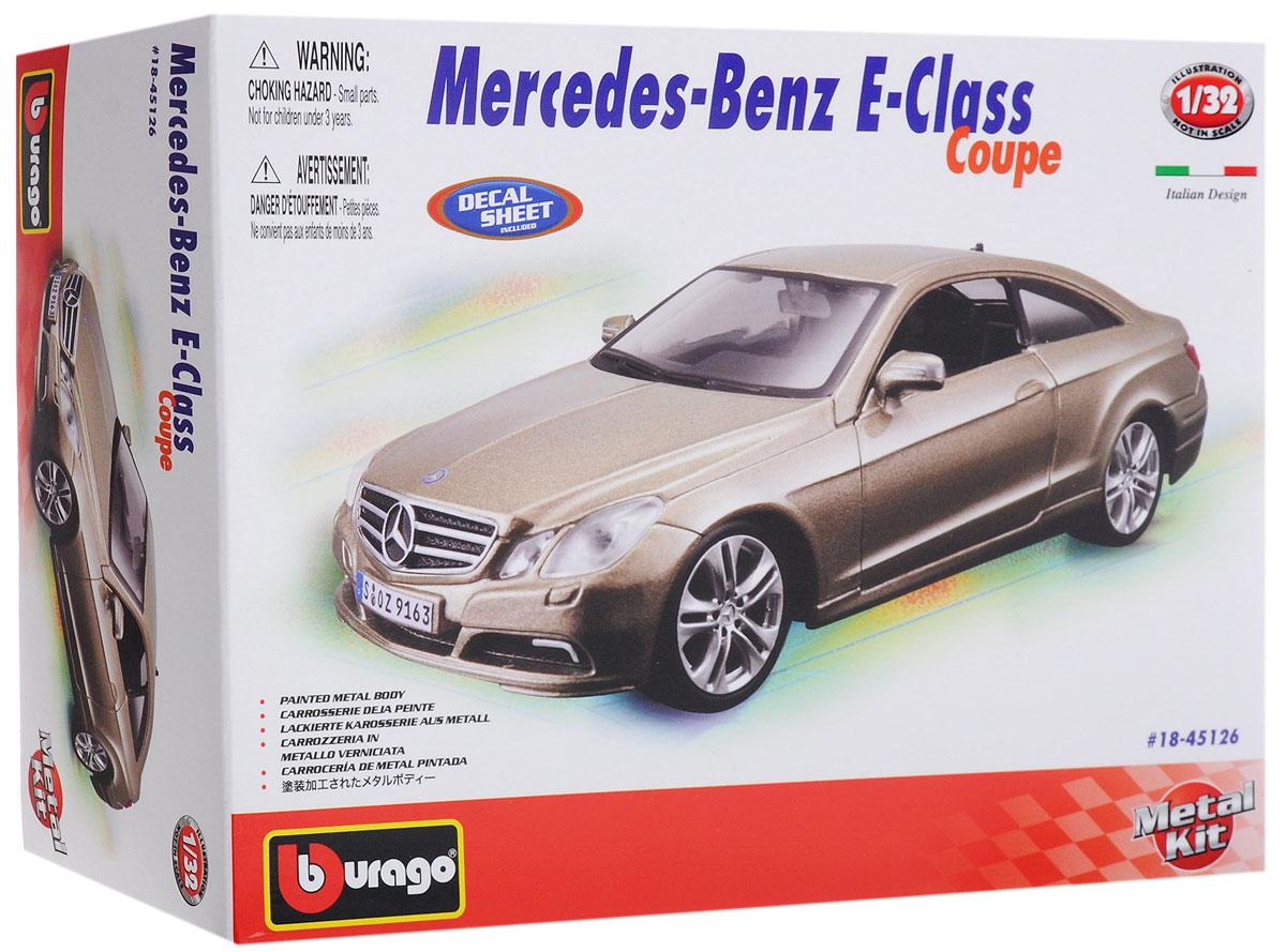 Bburago ������� ������ ���������� Mercedes-Benz E-Class Coupe
