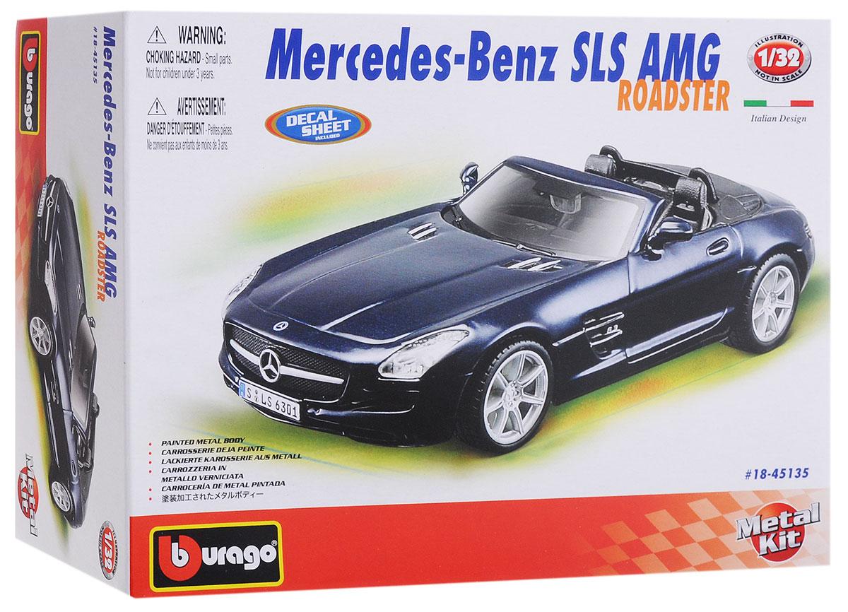 Bburago Сборная модель автомобиля Mercedes-Benz SLS AMG Roadster