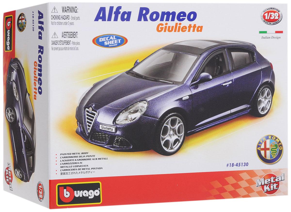 Bburago Сборная модель автомобиля Alfa Romeo Giulietta
