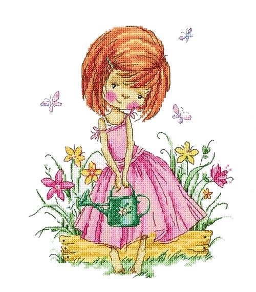 Набор для вышивания крестом RTO Бабочки в моем саду, 23 х 26 смМ513Красивый рисунок-вышивка, выполненный на канве, выглядит оригинально и всегда модно. Работа, сделанная своими руками, создаст особый уют и атмосферу в доме и долгие годы будет радовать вас и ваших близких. Набор для вышивания RTO Бабочки в моем саду содержит все необходимые материалы. Вышивка выполняется швом счетный крест в две нити мулине. В состав набора входит: - канва Aida 14 белого цвета (100% хлопок), 5,5 клеток = 1 см; - вышивальные нитки-мулине DMC на карте, разобранные по цветам (26 цветов, 100% хлопок); - символьная схема; - инструкция; - игла для вышивания. Уровень сложности: 3.