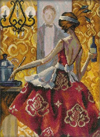 Набор для вышивания крестом RTO Триш Биддл. Эффектные женщины в роскошных местах, 25 х 33 см. M241M241Красивый рисунок-вышивка, выполненный на канве, выглядит оригинально и всегда модно. Работа, сделанная своими руками, создаст особый уют и атмосферу в доме и долгие годы будет радовать вас и ваших близких. Набор для вышивания RTO Триш Биддл. Эффектные женщины в роскошных местах содержит все необходимые материалы. Вышивка выполняется техникой счетный крест. В состав набора входит: - канва Aida 14 белая без рисунка (100% хлопок), 5,5 клеток = 1 см; - вышивальные нитки-мулине DMC на карте, разобранные по цветам (50 цветов, 100% хлопок); - символьная схема; - инструкция; - игла для вышивания.