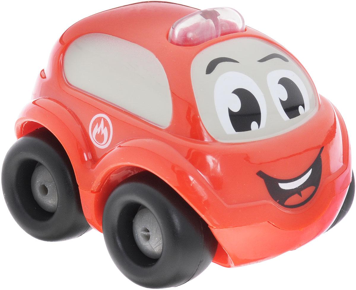Smoby Электронная машинка Vroom Planet211253Мини-машинка из серии Vroom Planet непременно привлечет внимание малыша, благодаря звуковым и световым эффектам. Игрушка выполнена из абсолютно безопасного для малыша высококачественного пластика. Машинка дополнена световыми и звуковыми эффектами, которые воспроизводятся нажатием кнопки на крыше автомобильчика. Игра с машинкой помогает развивать мелкую моторику, цветовосприятие, координацию движений. Порадуйте своего малыша таким замечательным подарком. Питание: 2 батарейки напряжением 1,5V типа LR44/AG13 (комплектуется демонстрационными).