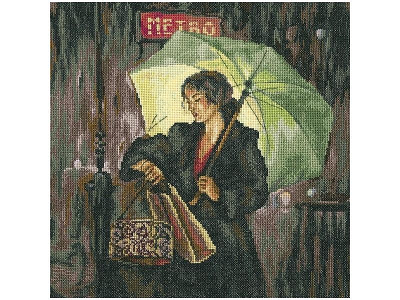 Набор для вышивания крестом RTO Парижское метро, 31 х 31 смМ462Красивый рисунок-вышивка, выполненный на канве, выглядит оригинально и всегда модно. Работа, сделанная своими руками, создаст особый уют и атмосферу в доме и долгие годы будет радовать вас и ваших близких. Набор для вышивания RTO Парижское метро содержит все необходимые материалы. Вышивка выполняется швом счетный крест в две нити мулине. В состав набора входит: - канва Aida 14 бежевого цвета (100% хлопок), 5,5 клеток = 1 см; - вышивальные нитки-мулине DMC на карте, разобранные по цветам (33 цвета, 100% хлопок); - символьная схема; - инструкция; - игла для вышивания. Уровень сложности: 4.