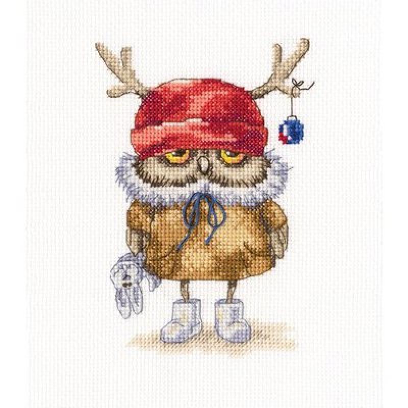 Набор для вышивания крестом RTO Я сегодня новогодний, 15 х 16 смС230Красивый рисунок-вышивка, выполненный на канве, выглядит оригинально и всегда модно. Работа, сделанная своими руками, создаст особый уют и атмосферу в доме и долгие годы будет радовать вас и ваших близких. Набор для вышивания содержит все необходимые материалы. Вышивка выполняется швом счетный крест. В состав набора входит: - канва Aida 14 белого цвета (100% хлопок; 5,5 клеток = 1 см; рисунок не нанесен), - вышивальные нитки-мулине DMC на карте, разобранные по цветам (21 цвет, 100% хлопок), - символьная схема, - инструкция, - игла для вышивания.