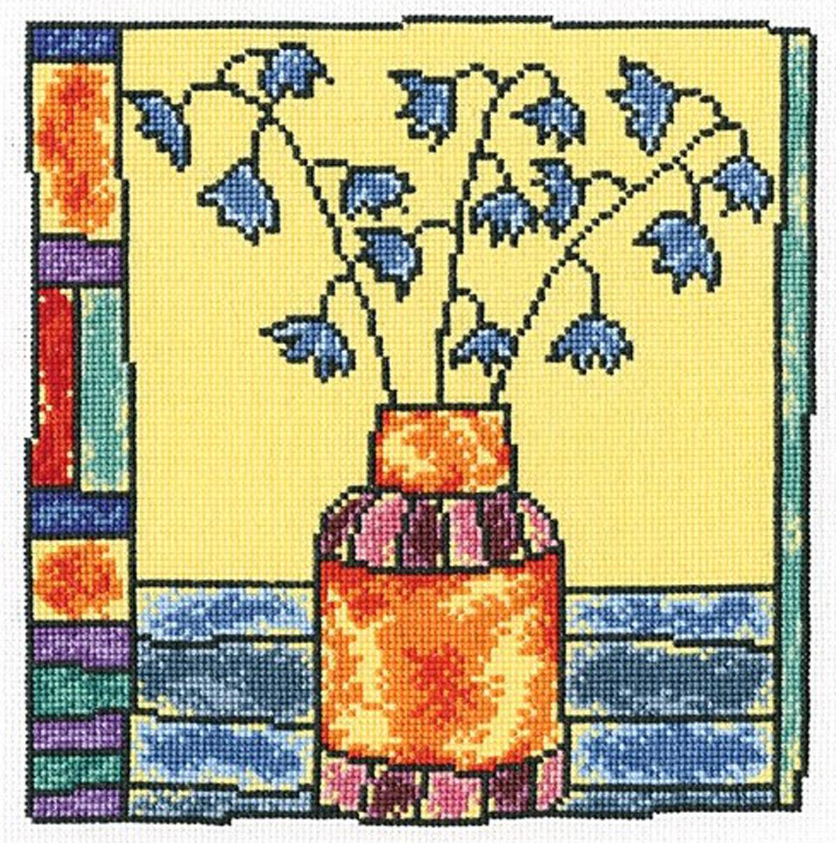 Набор для вышивания крестом RTO Колокольчики, 16 х 16,5 смМ477Красивый рисунок-вышивка, выполненный на канве, выглядит оригинально и всегда модно. Работа, сделанная своими руками, создаст особый уют и атмосферу в доме и долгие годы будет радовать вас и ваших близких. Набор для вышивания содержит все необходимые материалы. Вышивка выполняется швом счетный крест в две нити мулине. В состав набора входит: - канва Aida 18 белого цвета (100% хлопок, 7,0 клеток = 1 см, рисунок не нанесен), - вышивальные нитки-мулине DMC на карте, разобранные по цветам (20 цветов, 100% хлопок), - символьная схема, - инструкция, - игла для вышивания.