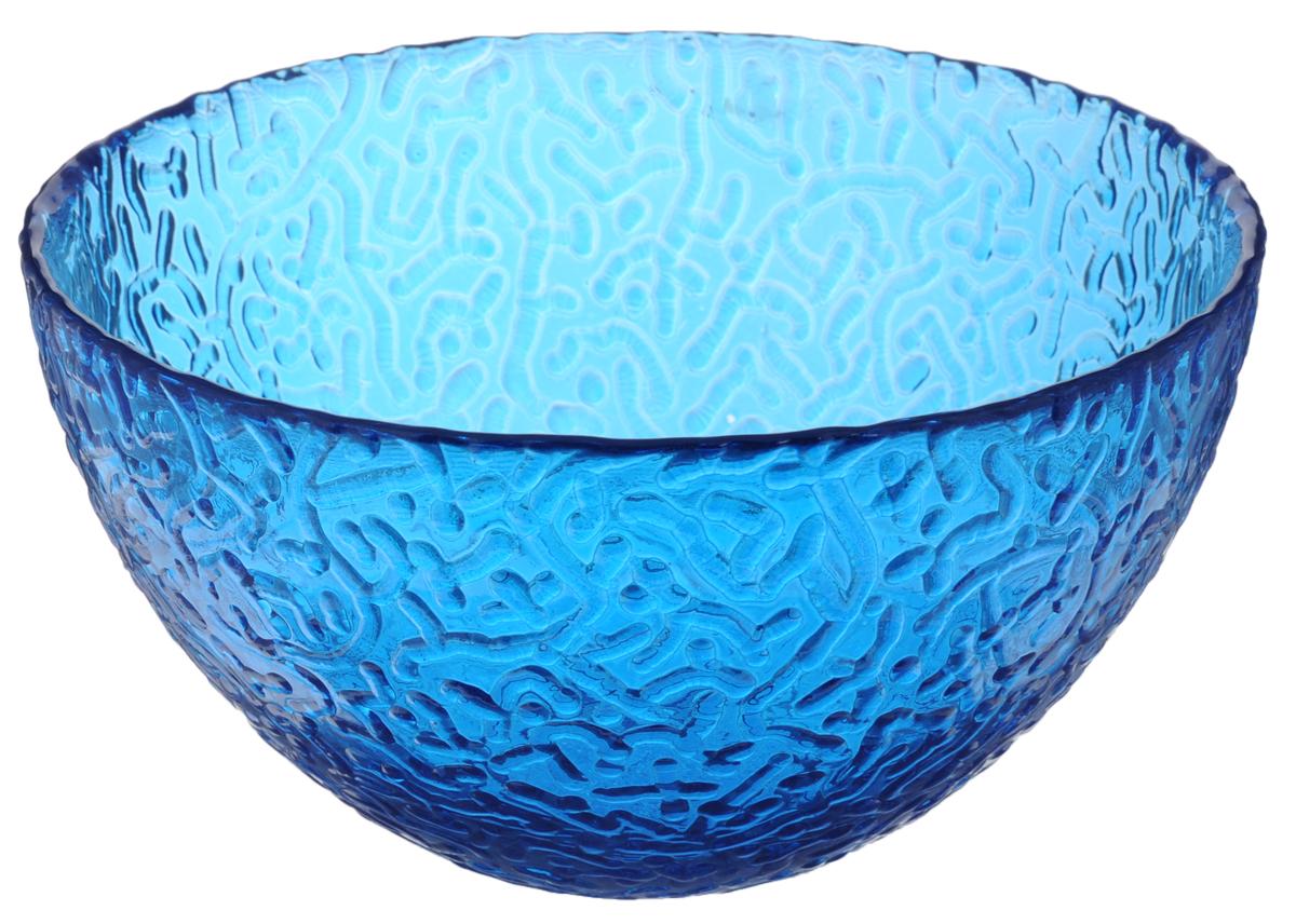 Салатник Ninaglass Ажур, цвет: синий, диаметр 16 смNG83-041BСалатник Ninaglass Ажур выполнен из высококачественного стекла и декорирован выпуклым узором. Он подойдет для сервировки стола как для повседневных, так и для торжественных случаев. Такой салатник прекрасно впишется в интерьер вашей кухни и станет достойным дополнением к кухонному инвентарю. Подчеркнет прекрасный вкус хозяйки и станет отличным подарком. Не рекомендуется использовать в микроволновой печи и мыть в посудомоечной машине. Диаметр салатника (по верхнему краю): 16 см. Высота стенки: 8,5 см.