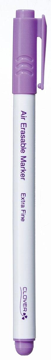 Маркер самоисчезающий Clover, тонкий, цвет: сиреневый5030Самоисчезающий маркер Clover применяется для вышивки, квилтинга, пэчворка, шитья. Через несколько дней после нанесения разметка исчезает. Это зависит от вида ткани. Следы маркера удаляются чистой водой или чистой слегка влажной тканью. Следы должны быть удалены перед стиркой и глажкой. Длина маркера: 14,5 см.