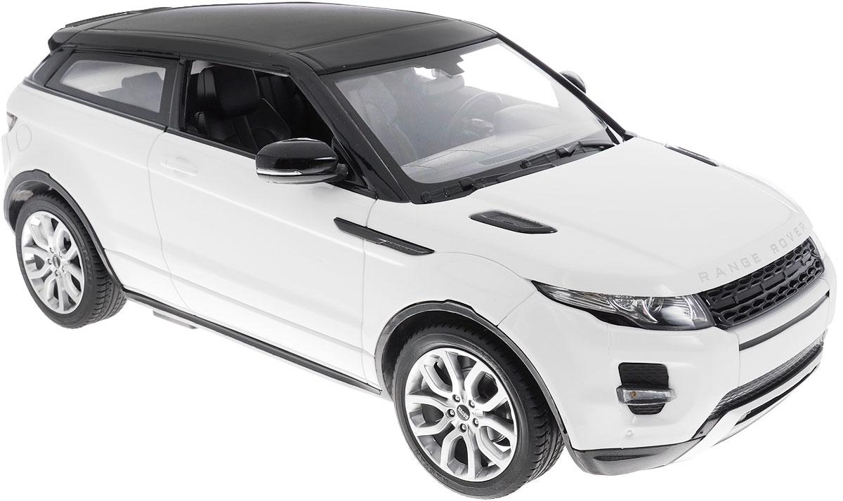 Rastar Радиоуправляемая модель с рулем Range Rover Evoque цвет белый47900-8 белыйРадиоуправляемая модель Rastar Range Rover Evoque станет отличным подарком любому мальчику! Все дети хотят иметь в наборе своих игрушек ослепительные, невероятные и модные автомобили на радиоуправлении. Тем более, если это автомобиль известной марки с проработкой всех деталей, удивляющий приятным качеством и видом. Одной из таких моделей является автомобиль на радиоуправлении Rastar Range Rover Evoque. Это точная копия настоящего авто в масштабе 1:14. Возможные движения: вперед, назад, вправо, влево, остановка. Пульт управления выполнен в виде полнофункционального руля с переключателем передач, кнопками акселератора, тормоза, клаксона. При повороте руля возникает звуковой эффект ритмичного тиканья, и машина поворачивает. При нажатии на клаксон раздается звуковой сигнал. Пульт управления работает на частоте 40 MHz. Для работы машины необходимы 5 батареек типа АА (не входят в комплект). Для работы пульта управления необходимы 4 батарейки типа...