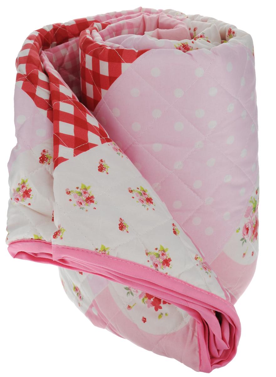 Покрывало Schaefer, цвет: розовый, белый, красный, 140 х 210 см07576-195Стеганое покрывало Schaefer с красивым орнаментом прекрасно дополнит интерьер спальни. Покрывало выполнено из высококачественного полиэстера, который отличается мягкостью и необычайной шелковистостью. Модный рисунок, современные цветовые сочетания, гладкая приятная ткань делают покрывало прекрасным украшением интерьера.