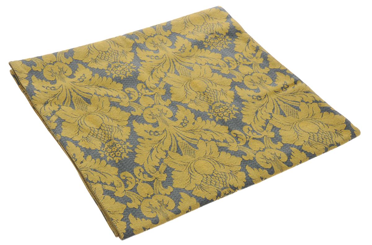 Дорожка для декорирования стола Schaefer, цвет: зеленый, желтый, прямоугольная, 40 x 140 см. 06024-21106024-211Дорожка Schaefer выполнена из высококачественного полиэстера и украшена цветочным орнаментом. Вы можете использовать дорожку для декорирования стола, комода или журнального столика. Благодаря такой дорожке вы защитите поверхность мебели от воды, пятен и механических воздействий, а также создадите атмосферу уюта и домашнего тепла в интерьере вашей квартиры. Изделия из искусственных волокон легко стирать: они не мнутся, не садятся и быстро сохнут, они более долговечны, чем изделия из натуральных волокон. Изысканный текстиль от немецкой компании Schaefer - это красота, стиль и уют в вашем доме. Дорожка органично впишется в интерьер любого помещения, а оригинальный дизайн удовлетворит даже самый изысканный вкус. Дарите себе и близким красоту каждый день!
