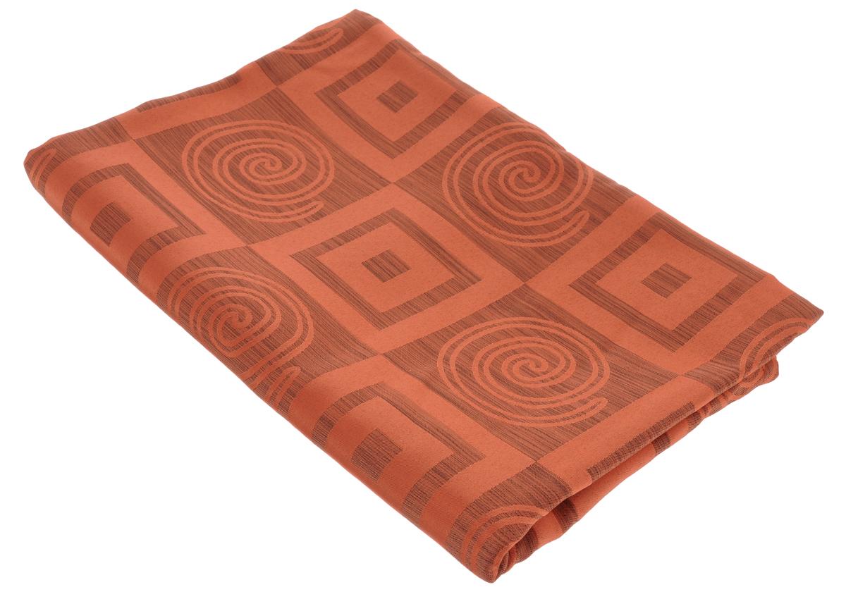 Скатерть Schaefer, прямоугольная, цвет: оранжевый, 140 х 170 см. 06923-43006923-430Прямоугольная скатерть Schaefer, выполненная из полиэстера с геометрическим рисунком, станет изысканным украшением кухонного стола. За текстилем из полиэстера очень легко ухаживать: он не мнется, не садится и быстро сохнет, легко стирается, более долговечен, чем текстиль из натуральных волокон. Использование такой скатерти сделает застолье торжественным, поднимет настроение гостей и приятно удивит их вашим изысканным вкусом. Также вы можете использовать эту скатерть для повседневной трапезы, превратив каждый прием пищи в волшебный праздник и веселье. Это текстильное изделие станет изысканным украшением вашего дома!