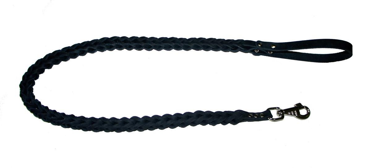 Поводок для собак Аркон Плетенка квадратная, цвет: черный, ширина 2,3 см, длина 120 смпл12квчПоводок для собак Аркон Плетенка квадратная изготовлен из высококачественной натуральной кожи в виде объемного плетения. Карабин выполнен из легкого сверхпрочного сплава. Изделие отличается не только исключительной надежностью и удобством, но и привлекательным современным дизайном. Поводок - необходимый аксессуар для собаки. Ведь в опасных ситуациях именно он способен спасти жизнь вашему любимому питомцу. Иногда нужно ограничивать свободу своего четвероногого друга, чтобы защитить его или себя от неприятностей на прогулке. Длина поводка: 120 см. Ширина поводка: 2,3 см.