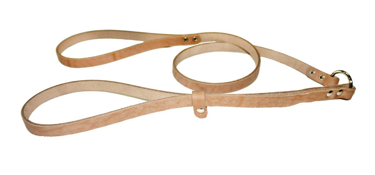 Ринговка для собак Аркон Стандарт, цвет: бежевый, ширина 1,2 см, длина 110 смр12Ринговка Аркон Стандарт - это специальный поводок, состоящий из петли с фиксатором и, собственно, поводка. Выполнена из натуральной кожи, фурнитура - из высококачественного металла. Ринговка является самым распространенным видом амуниции для показа собаки на выставке или занятий рингдрессурой. Ринговку подбирают в тон окраса собаки, если собака пятнистая - то в тон преобладающего окраса или, наоборот, контрастную. Ширина: 1,2 см. Длина: 110 см.