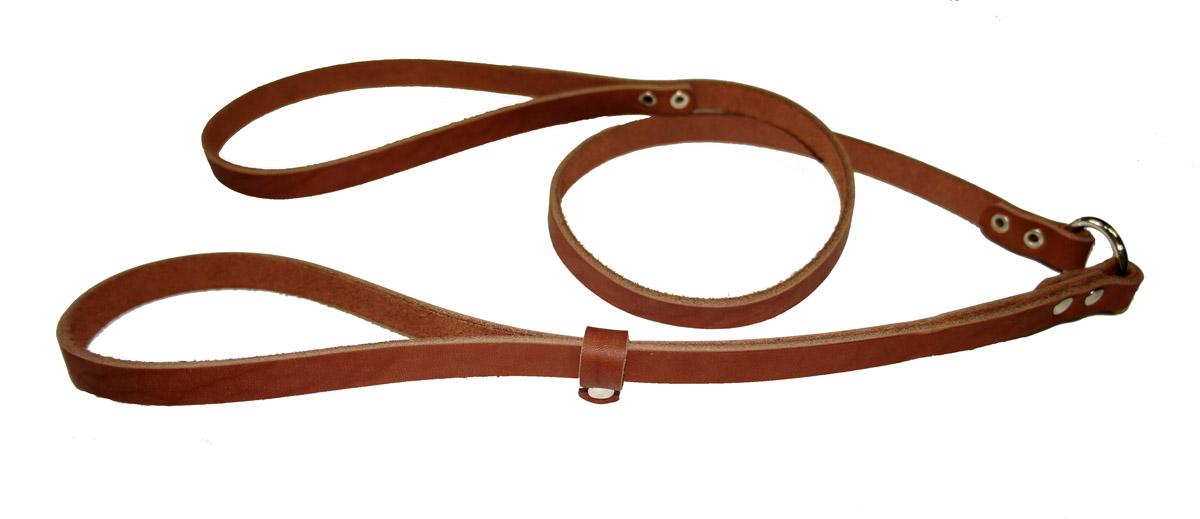 Ринговка для собак Аркон Стандарт, цвет: коньячный, ширина 1,2 см, длина 110 смр12кРинговка Аркон Стандарт - это специальный поводок, состоящий из петли с фиксатором и, собственно, поводка. Выполнена из натуральной кожи, фурнитура - из высококачественного металла. Ринговка является самым распространенным видом амуниции для показа собаки на выставке или занятий рингдрессурой. Ринговку подбирают в тон окраса собаки, если собака пятнистая - то в тон преобладающего окраса или, наоборот, контрастную. Ширина: 1,2 см. Длина: 110 см.