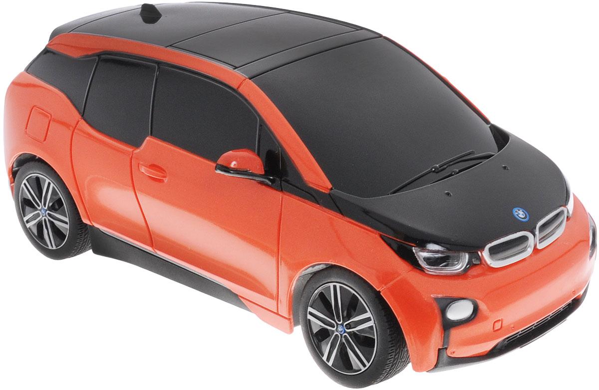 Rastar Радиоуправляемая модель BMW i3 цвет оранжевый черный