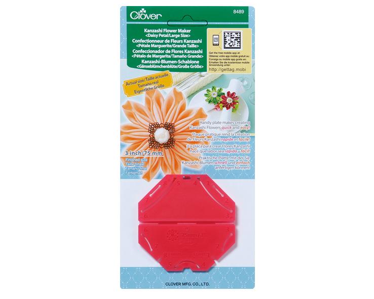 Шаблон для изготовления декоративных цветов Clover