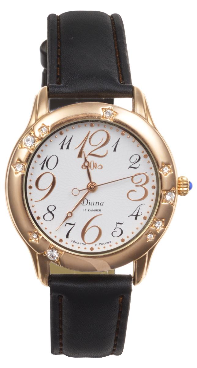 Часы женские наручные Mikhail Moskvin Диана, цвет: золотой, белый, черный. 596-8-2596-8-2Элегантные женские часы Mikhail Moskvin Диана изготовлены из нержавеющей стали, натуральной и минерального стекла. Корпус часов украшен стразами, циферблат дополнен символикой бренда. Изделие имеет степень влагозащиты равную 3 Bar, а также дополнено устойчивым к царапинам минеральным стеклом. Ремешок часов оснащен классической пряжкой, которая позволит с легкостью снимать и надевать изделие. Часы поставляются в фирменной упаковке. Часы Mikhail Moskvin Диана подчеркнут изящность женской руки и отменное чувство стиля у их обладательницы.