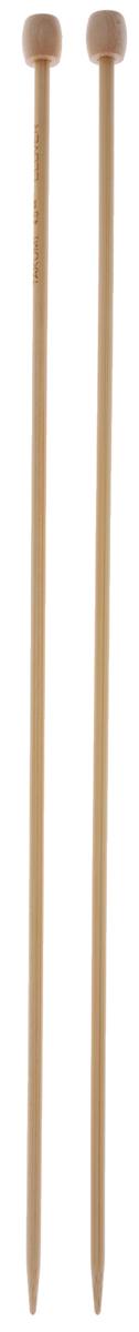 Спицы Clover, бамбуковые, прямые, диаметр 4 мм, длина 33 см, 2 шт3012Спицы для вязания Clover изготовлены из бамбука. Спицы прочные, легкие, гладкие, удобные в использовании. Ограничители препятствуют соскальзыванию петель. Бамбуковые спицы предназначены для вязания шапочек, варежек, носков и других вещей. Вы сможете вязать для себя и делать подарки друзьям. Рукоделие всегда считалось изысканным, благородным делом. Работа, сделанная своими руками, долго будет радовать вас и ваших близких.