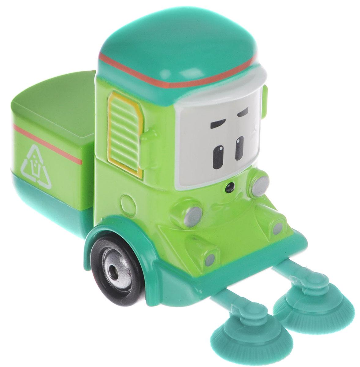 Robocar Poli Игрушка Машинка Клини83167Яркая игрушка Poli Машинка Клини непременно понравится вашему малышу. Она выполнена из металла с элементами пластика в виде машинки для уборки мусора Клини - персонажа популярного мультсериала Robocar Poli. Клини оснащен колесиками со свободным ходом, позволяющими катать машинку. Благодаря небольшому размеру ребенок сможет взять игрушку с собой на прогулку, в поездку или в гости. Порадуйте своего малыша таким замечательным подарком!