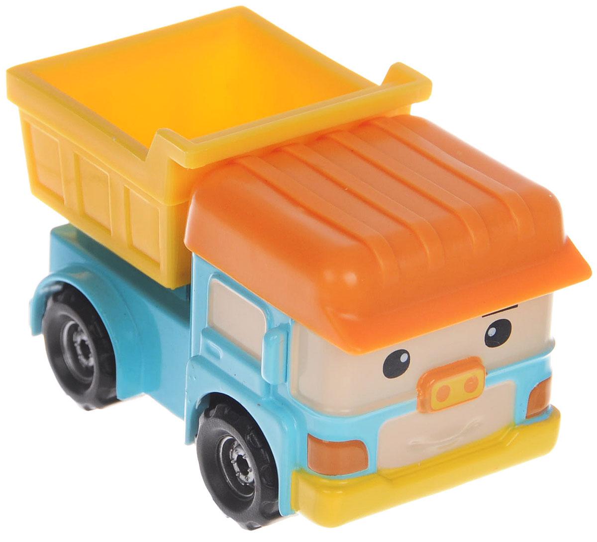 Robocar Poli Игрушка Самосвал Дампо83164Яркая игрушка Poli Самосвал Дампо непременно понравится вашему малышу. Она выполнена из металла с элементами пластика в виде самосвала Дампо - персонажа популярного мультсериала Robocar Poli. Дампо оснащен откидывающимся кузовом и колесиками со свободным ходом, позволяющими катать машинку. Благодаря небольшому размеру ребенок сможет взять игрушку с собой на прогулку, в поездку или в гости. Порадуйте своего малыша таким замечательным подарком!