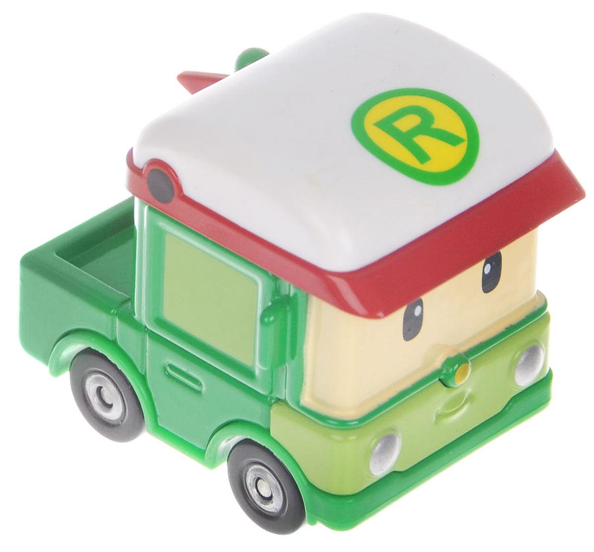 Robocar Poli Машинка Роди83255Яркая игрушка Poli Машинка Роди непременно понравится вашему малышу. Она выполнена из металла с элементами пластика в виде машинки Роди - персонажа популярного мультсериала Robocar Poli. Роди оснащен колесиками со свободным ходом, позволяющими катать машинку. Благодаря небольшому размеру ребенок сможет взять игрушку с собой на прогулку, в поездку или в гости. Порадуйте своего малыша таким замечательным подарком!