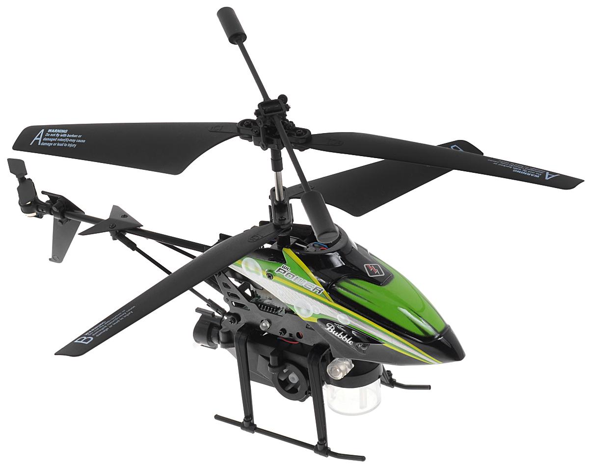 ABtoys Вертолет на инфракрасном управлении Bubble цвет зеленый черный
