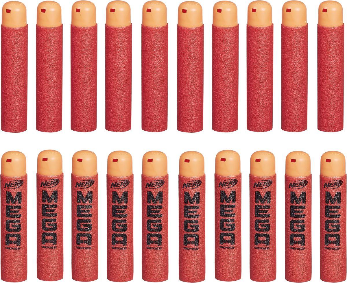 Nerf Набор стрел Мега 20 штB0085EU4Набор стрел Nerf Мега включает в себя 20 стрел, которые подходят к любому бластеру серии МЕГА. Стрелы выполнены из поролона и пластика и абсолютно безопасны для детей. Стрелы прочно держатся в барабанах бластеров и не выпадают во время игры. Такой дополнительный комплект стрел идеально подойдет для игр на свежем воздухе и расширит возможности юных снайперов!
