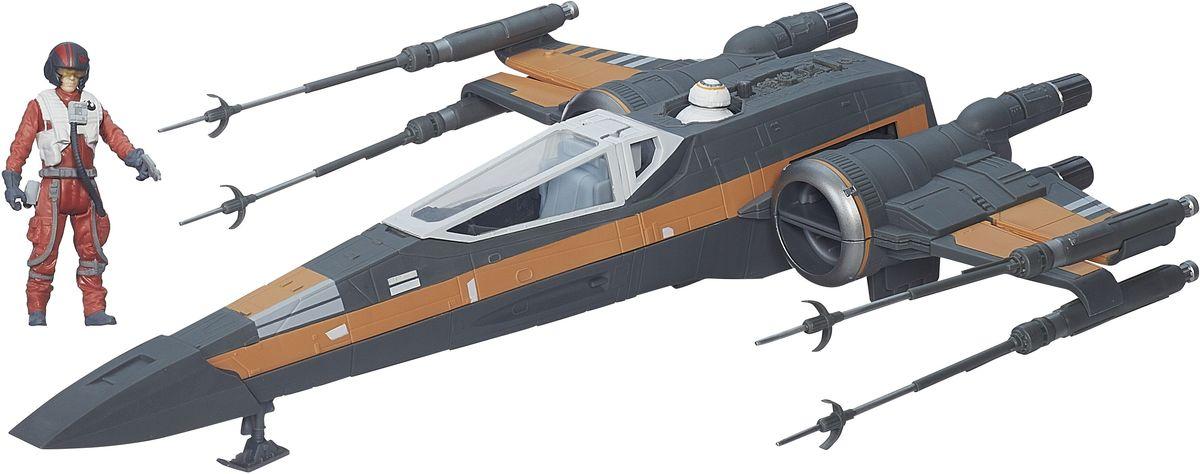 Star Wars Космический корабль Poes X-Wing FighterB3953EU4Создайте свой галактический флот Звездных войн с космическим кораблем из нового эпизода саги. Космический корабль, посвященный одной из миссий, поставляется вместе с фигуркой пилота и огнестрельным оружием в комплекте. Космический корабль Star Wars Poes X-Wing Fighter является точной копией оригинала. Этот корабль проработан с поражающей воображение детализацией, включая рельефные поверхности, оружие и цвета. Все это сделает игру реалистичной и разнообразной. Такая игрушка непременно понравится поклоннику Звездных войн и станет замечательным украшением любой коллекции. Создайте свой галактический флот с космическим кораблем из любимого фильма! Порадуйте своего ребенка такой необычной игрушкой!