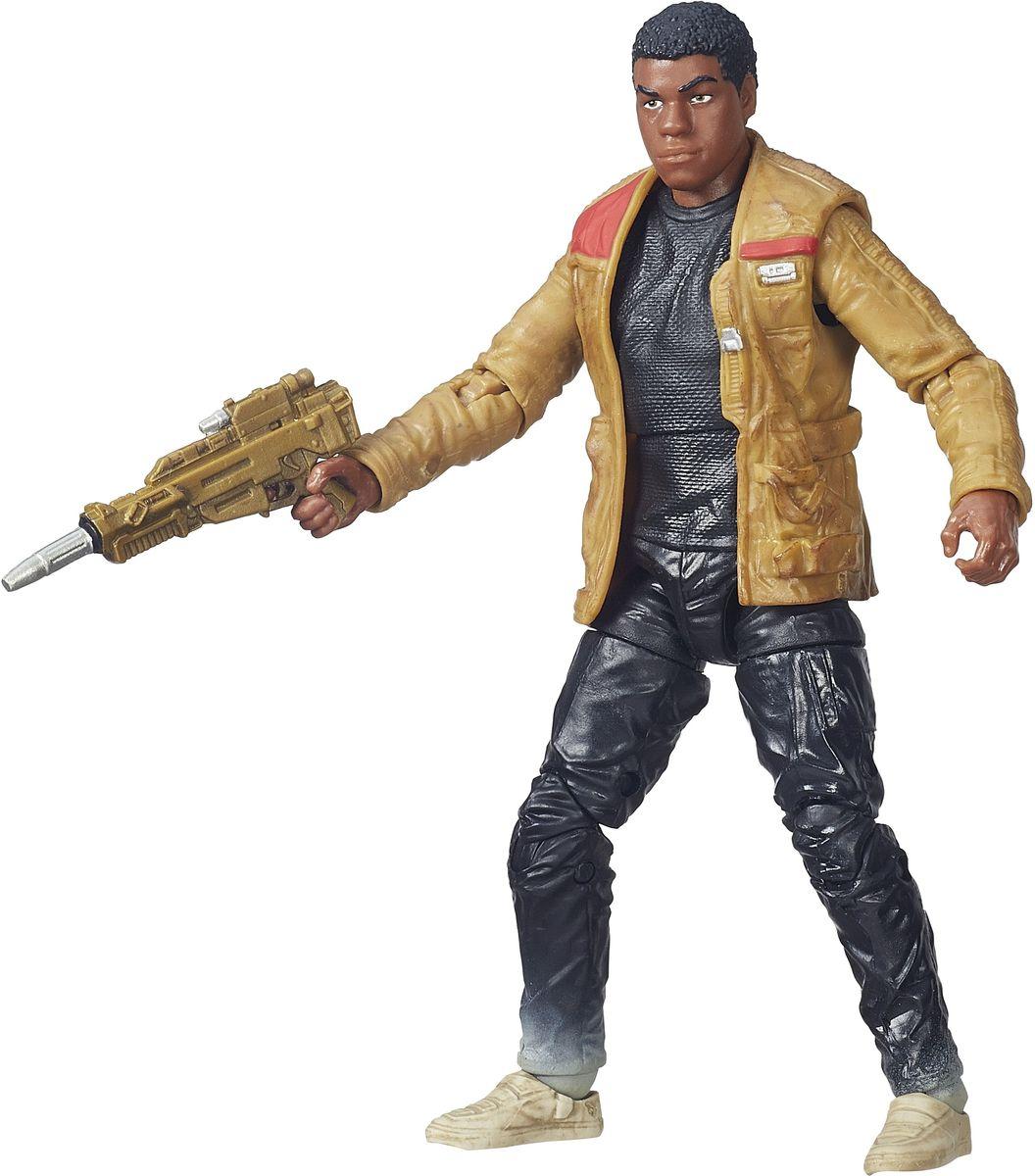 Star Wars Фигурка Black Series Finn JakkuB3834EU4_B3835Фигурка Star Wars Finn Jakku создана в виде героя всеми любимой фантастической саги Звездные Войны. Фигурка из пластика проработана до мельчайших деталей и является точной копией своего прототипа в уменьшенном размере. Конечности фигурки подвижны: поворачивается голова, сгибаются ноги в коленях, а руки в локтях. Все это сделает игру реалистичной и разнообразной. Такая фигурка непременно понравится поклоннику Звездных войн и станет замечательным украшением любой коллекции. В наборе: фигурка и оружие.