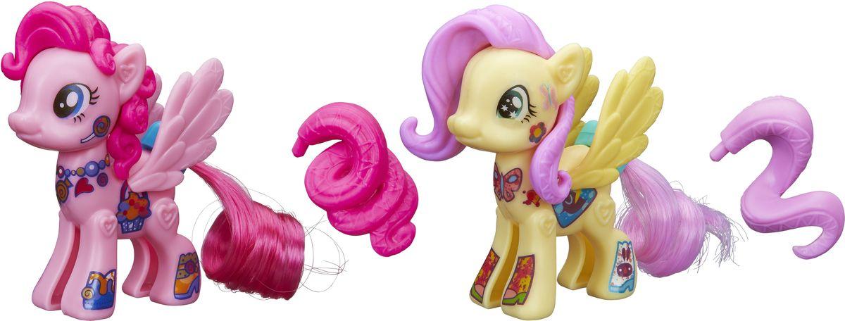 My Little Pony Набор фигурок Создай свою пони Флаттершай и Пинки ПайB4970EU4_B3589Набор фигурок My Little Pony Создай свою пони. Флаттершай и Пинки Пай - это отличный набор для развития творческих способностей малышки. Можно собрать пони из мультфильма, а можно создать свою собственную пони! В наборе различные гривы, прически, наклейки и красивые резные крылья. Соедини части пони вместе, укрась ее и создай свою собственную неповторимую пони! Элементы комбинируются с элементами из других наборов Создай свою пони. Ваша малышка будет в восторге от такого подарка!