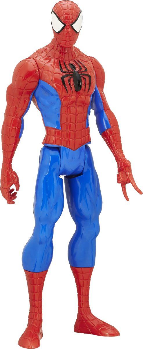 Spider-Man Фигурка Совершенный Человек-ПаукB5753EU4Фигурка Spiderman Совершенный Человек-Паук порадует любого поклонника знаменитой вселенной Marvel. Фигурка изготовлена из высококачественного прочного пластика и выполнена в виде всем известного Человека-Паука. Фигурка имеет 5 точек артикуляции - голова, руки и ноги подвижны. Фигурка Spiderman Совершенный Человек-Паук понравится как детям, так и взрослым коллекционерам, она станет отличным сувениром и займет достойное место в коллекции любого поклонника комиксов Marvel.