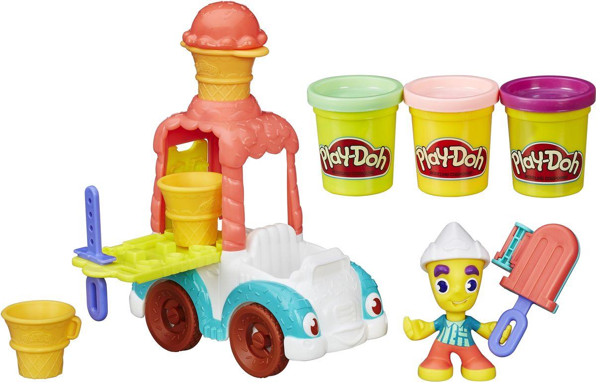 Play-Doh Игровой набор Грузовичок с мороженым