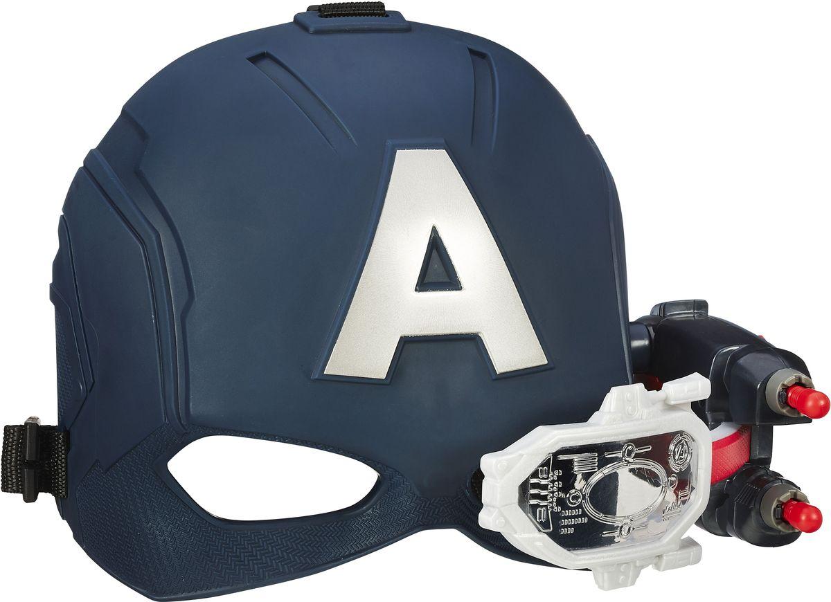 Мстители / Avengers Интерактивная игрушка Электронный шлем Первого Мстителя