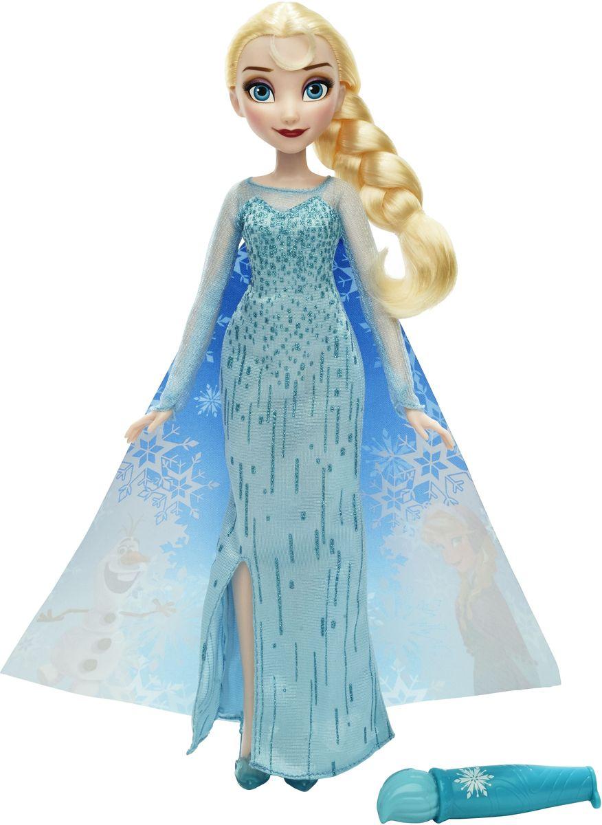 Disney Frozen Кукла Эльза в волшебном плащеB6699EU4_B6700Кукла Disney Princess Эльза в волшебном плаще станет отличным подарком для девочки! Кукла с длинными волосами выполнена из высококачественного пластика и текстиля в виде очаровательной принцессы Эльзы. Эльза одета в красивое платье с блестками и волшебный плащ. Если наполнить специальную кисточку водой и провести ею по плащу, то на плаще как по волшебству появятся изображения героев мультфильма. Ваша малышка будет в восторге от такого подарка!