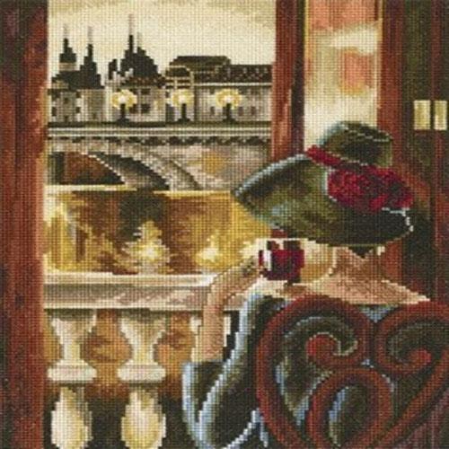 Набор для вышивания крестом RTO Комната с видом, Париж, 17 х 23 смМ383Красивый рисунок-вышивка, выполненный на канве, выглядит оригинально и всегда модно. Работа, сделанная своими руками, создаст особый уют и атмосферу в доме и долгие годы будет радовать вас и ваших близких. Набор для вышивания RTO Комната с видом, Париж содержит все необходимые материалы. Вышивка выполняется швом счетный крест в две нити мулине. В состав набора входит: - канва Aida 16 бежевого цвета (100% хлопок), 6,4 клеток = 1 см; - вышивальные нитки-мулине DMC на карте, разобранные по цветам (45 цветов, 100% хлопок); - символьная схема; - инструкция; - игла для вышивания. Уровень сложности: 4.