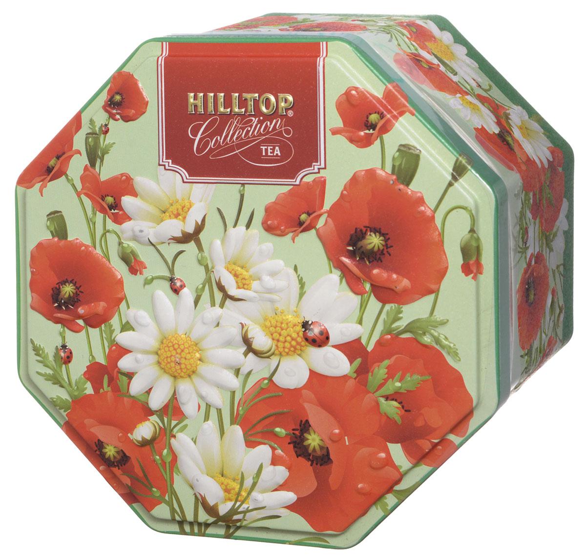 Hilltop Букет цветов. Цейлонское утро черный листовой чай, 150 г4607099302570Hilltop Букет цветов. Цейлонское утро - классический цейлонский черный чай с мягким ароматом, терпко-сладким вкусом и тонизирующими свойствами.