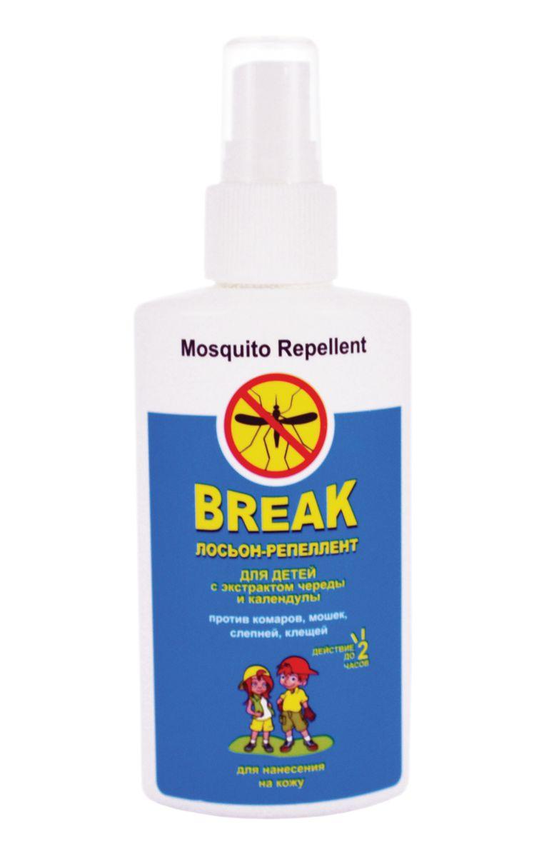 Break Лосьон-репеллент для детей с экстрактом череды и календулы 125 мл